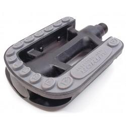 Педали Author APD-206 пластик, черно-серые 8-34053002