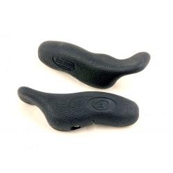 Рога на руль Author ABE-402, черные изогнутые 8-33152011
