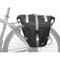 Велосумка Author A-N495, боковая на багажник, черная, 13 л, чехол 8-15000079