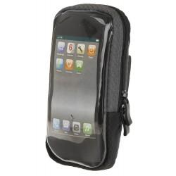 Чехол для смартфона M-Wave, на руль, влагозащитный, черный 5-122396