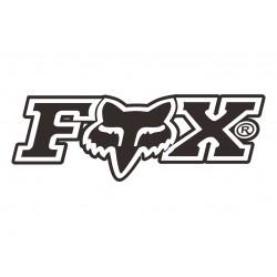 Наклейка Fox 2 6,5х2,5 см arc109