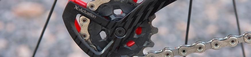 Широкий выбор разных компонетов для переключателей велосипеда