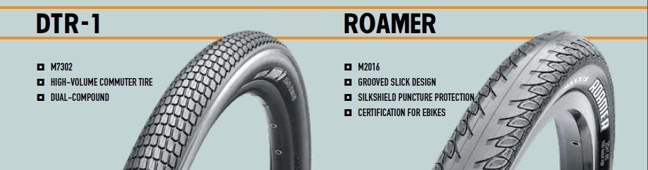 Покрышка Maxxis DTR-1 и Roamer